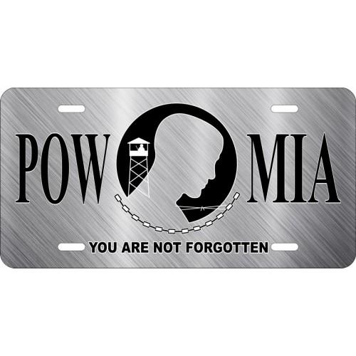 POW MIA License Plate